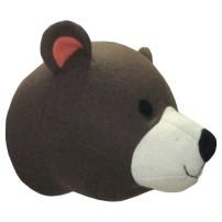 pillowfort bear head