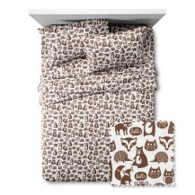 pillowfort forest sheets